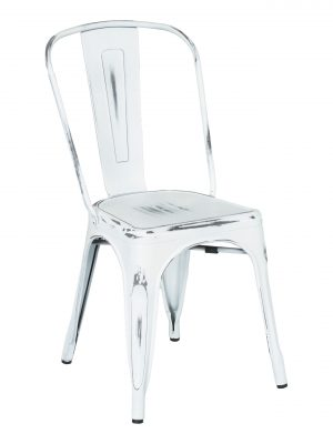 Industrial Chair – White