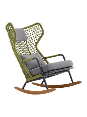 Banyantree Rocking Highback Lounge Armchair