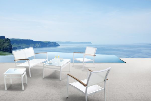 Al 5624 Lounge Set With Al 5602 Coffee Table With Glass 2