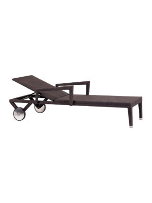 Miami Beach Sunlounger Aw With Arms And Wheels 2