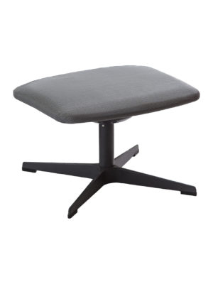 Monaco Footstool Texswivel Anthracite 2